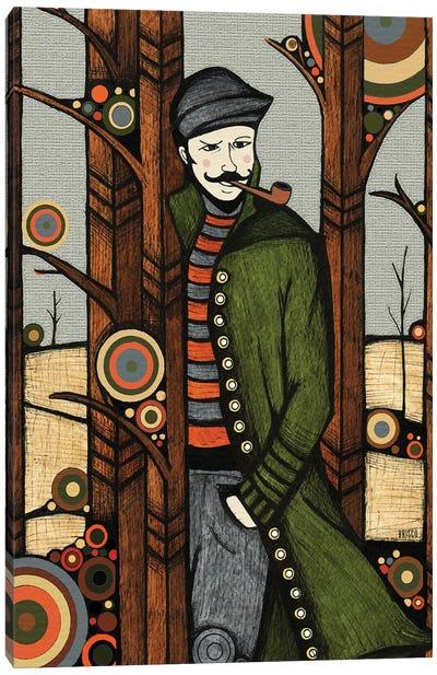 The Jacket Canvas Art Print