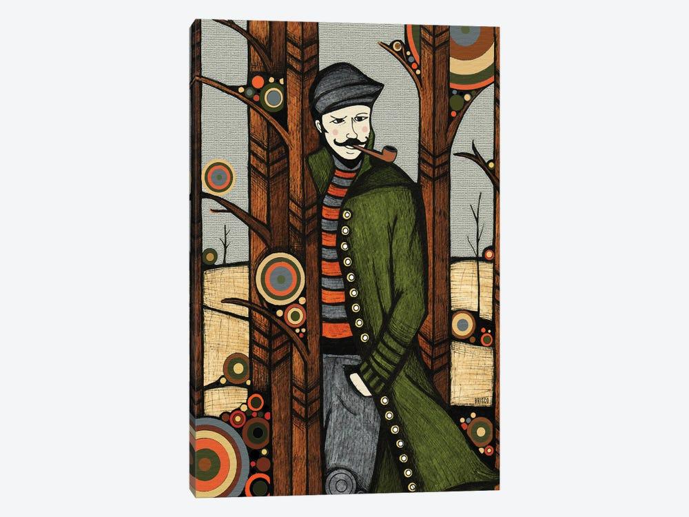 The Jacket by Bridgett Scott 1-piece Canvas Wall Art