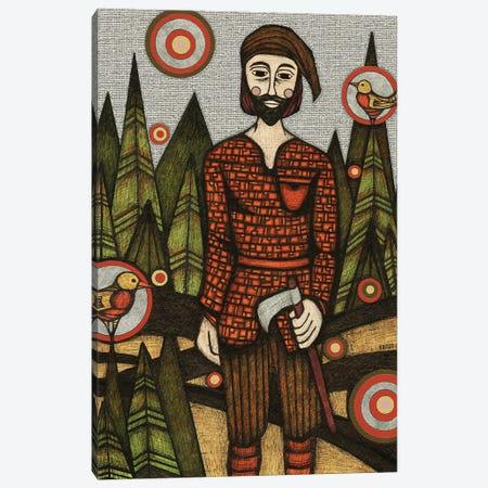 The Woodsman Canvas Print #BGT29} by Bridgett Scott Canvas Art