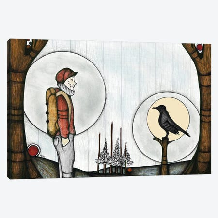 Two Travelers Canvas Print #BGT30} by Bridgett Scott Canvas Print