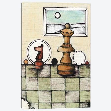 Chess Mates Canvas Print #BGT6} by Bridgett Scott Canvas Art Print