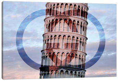Leaning In The Sky Canvas Print #BGY4
