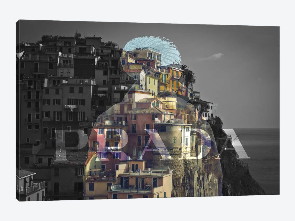 Overlooking Paradise by 5by5collective 1-piece Art Print