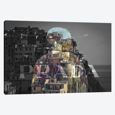 Overlooking Paradise Canvas Print #BGY6} by 5by5collective Canvas Wall Art