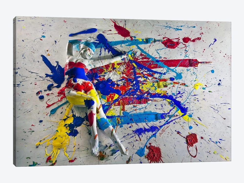 Caroline Madison III by Ben Heine 1-piece Canvas Art