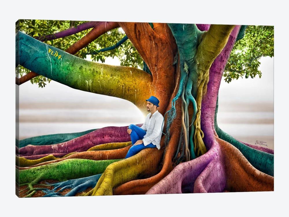 Just Dreaming by Ben Heine 1-piece Canvas Art Print