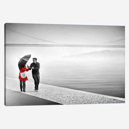 We're In It Together Canvas Print #BHE120} by Ben Heine Canvas Artwork