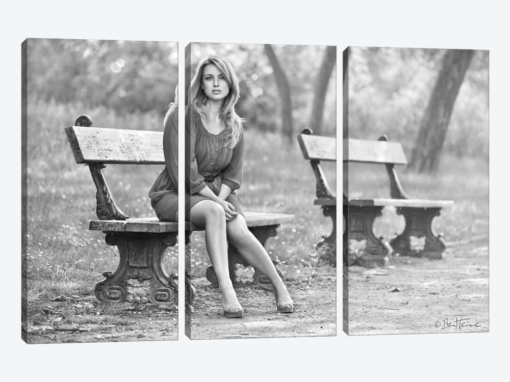 Waiting for Someone 3-piece Art Print