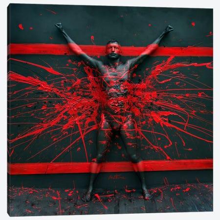 Martin Canvas Print #BHE137} by Ben Heine Canvas Artwork