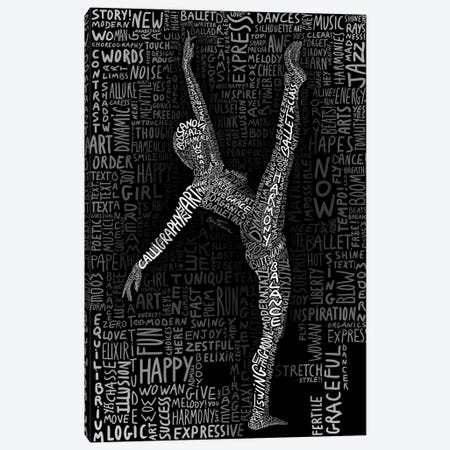 Dancer Canvas Print #BHE138} by Ben Heine Canvas Print