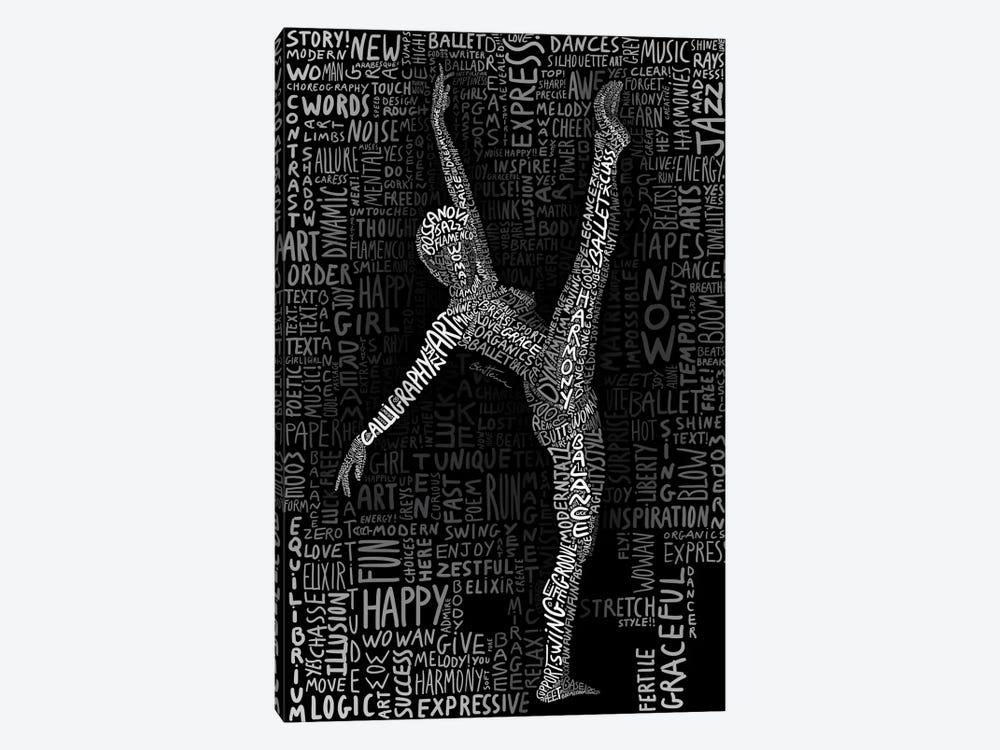 Dancer by Ben Heine 1-piece Canvas Art Print