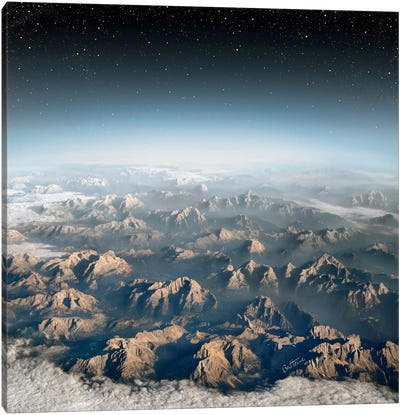 Planet Earth Canvas Art Print