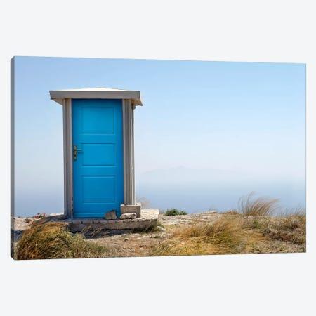 Blue Dimension Canvas Print #BHE143} by Ben Heine Canvas Artwork