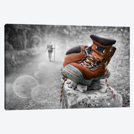 Keep Walking Canvas Print #BHE145} by Ben Heine Art Print