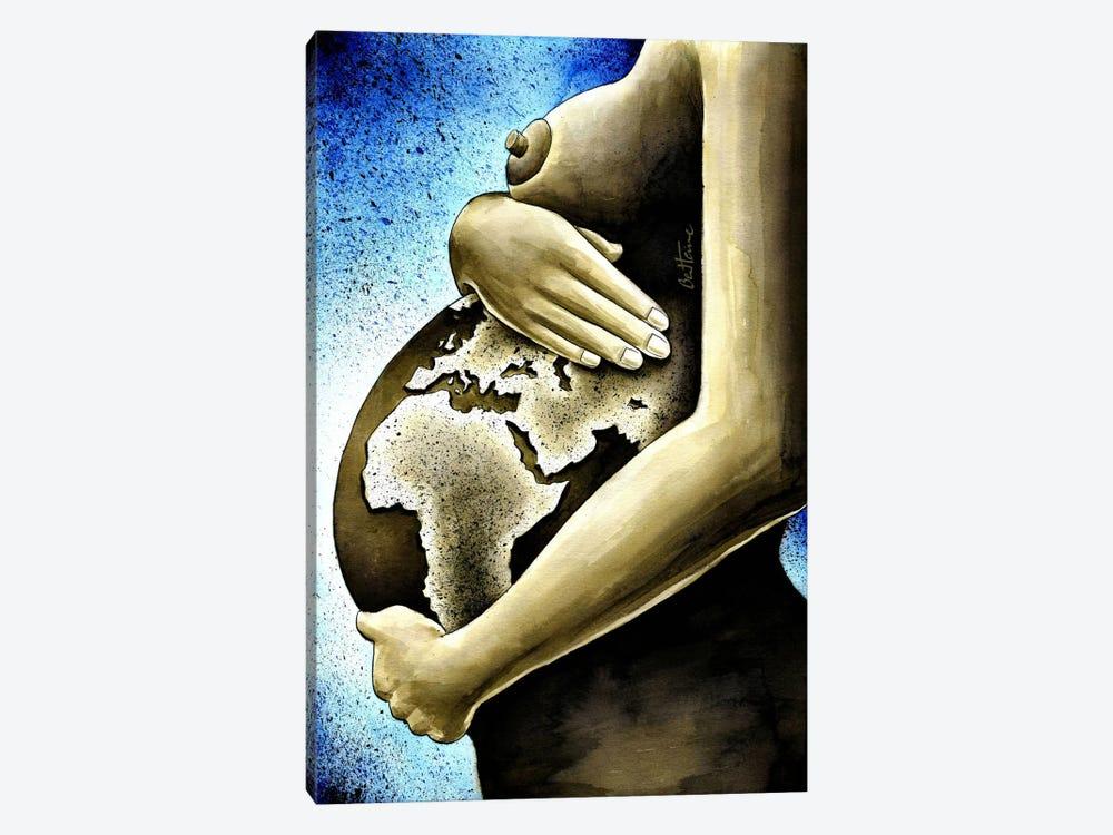 Mother Africa by Ben Heine 1-piece Art Print