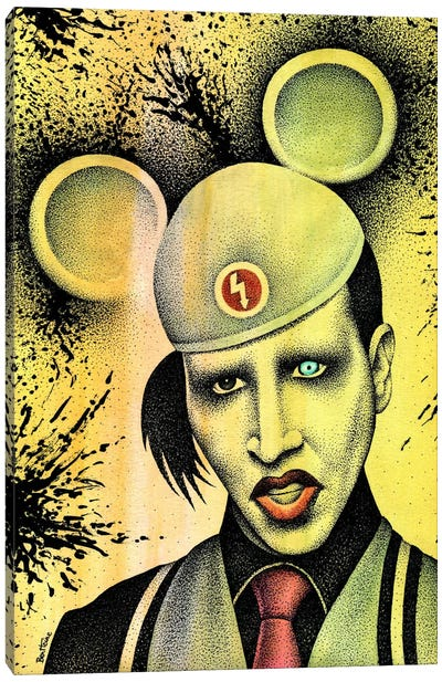 Marilyn Manson II Canvas Art Print
