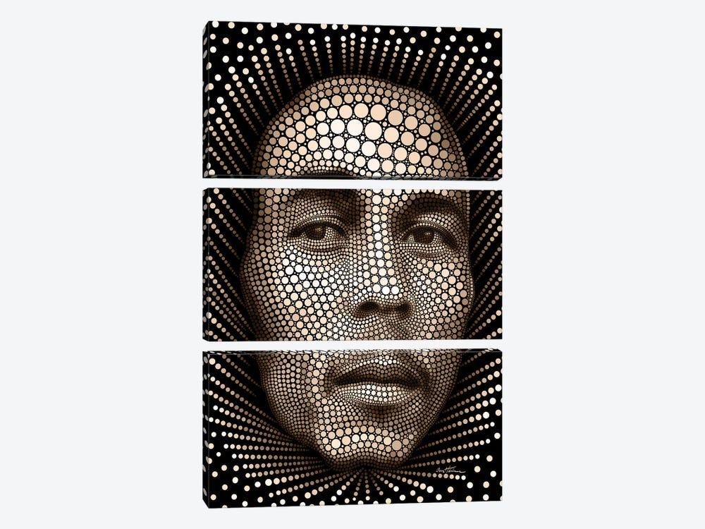 Bob Marley by Ben Heine 3-piece Art Print