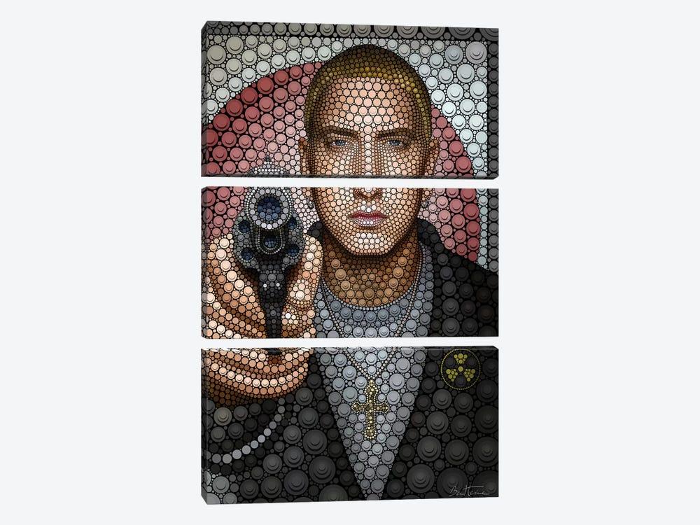 Eminem by Ben Heine 3-piece Art Print