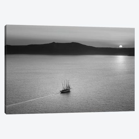 Evening Traveler Canvas Print #BHE175} by Ben Heine Canvas Art