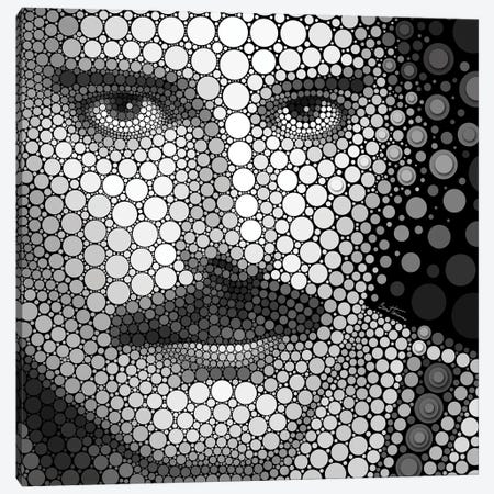 Freddie Mercury Canvas Print #BHE181} by Ben Heine Canvas Art