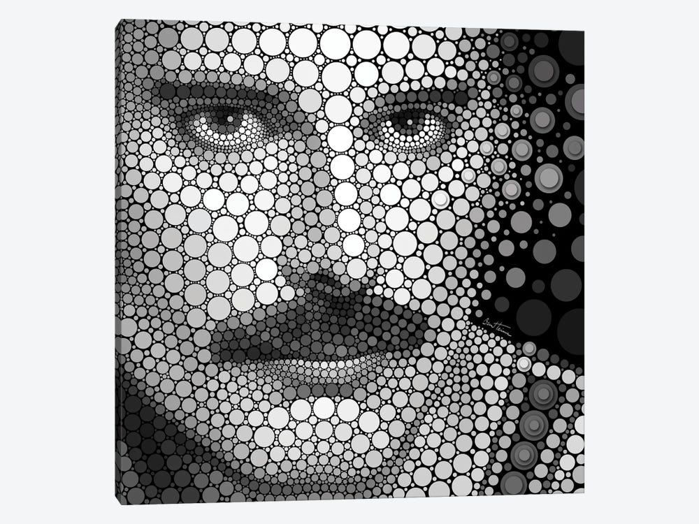 Freddie Mercury by Ben Heine 1-piece Canvas Print