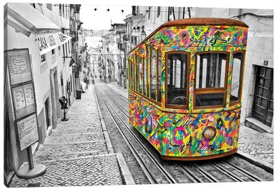 Lisbon Tram Canvas Art Print