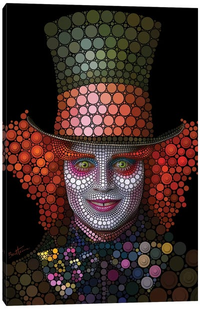 Mad Hatter - Johnny Depp Canvas Art Print