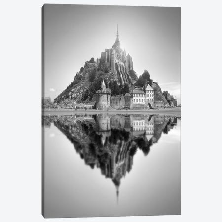 Mont Saint-Michel II Canvas Print #BHE189} by Ben Heine Canvas Artwork