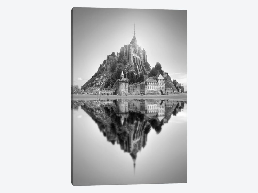 Mont Saint-Michel II by Ben Heine 1-piece Canvas Print