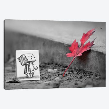 Something In Common Canvas Print #BHE202} by Ben Heine Canvas Art Print
