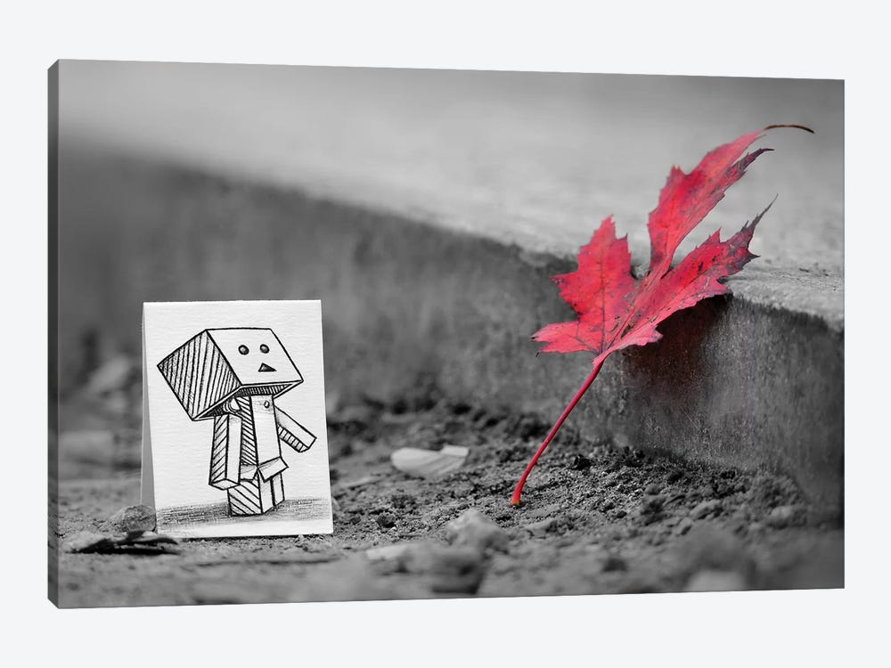 Something In Common by Ben Heine 1-piece Canvas Wall Art