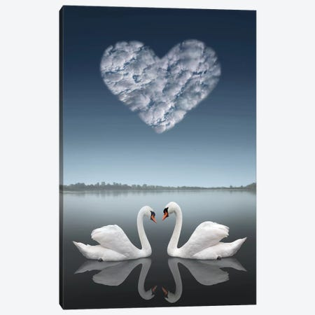 Together Canvas Print #BHE206} by Ben Heine Canvas Wall Art
