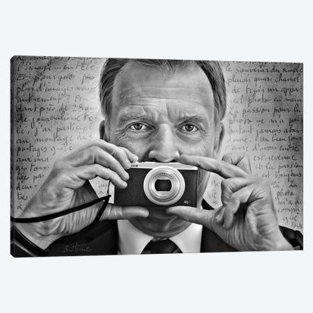 Hybrid Photographer Canvas Print #BHE215} by Ben Heine Art Print