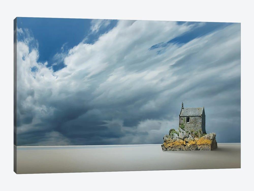 Lonely House by Ben Heine 1-piece Canvas Artwork