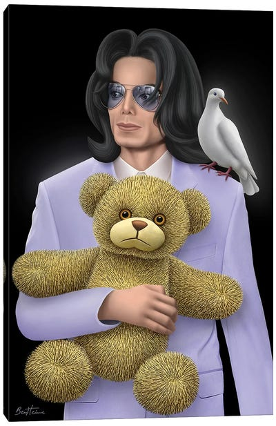 Michael Jackson - Eternal Child Canvas Art Print