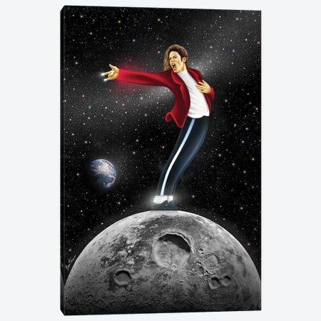 Michael Jackson, Beat It Canvas Print #BHE219} by Ben Heine Canvas Artwork