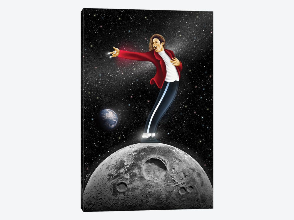 Michael Jackson, Beat It by Ben Heine 1-piece Canvas Artwork