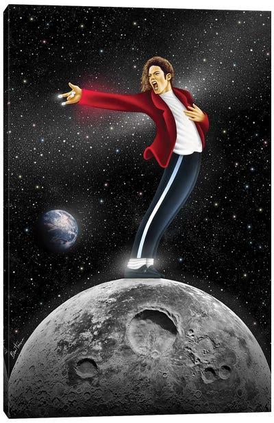 Michael Jackson, Beat It Canvas Art Print