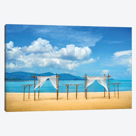Just Breathe And Relax Canvas Print #BHE238} by Ben Heine Canvas Art