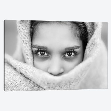 The Eyes Of Youth Canvas Print #BHE255} by Ben Heine Art Print