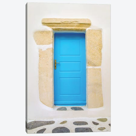 Blue Door Canvas Print #BHE266} by Ben Heine Canvas Wall Art