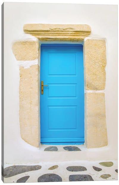 Blue Door Canvas Art Print