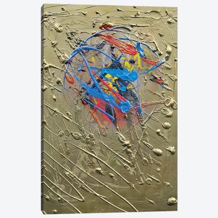 Blue Effusion Canvas Print #BHE267} by Ben Heine Canvas Art