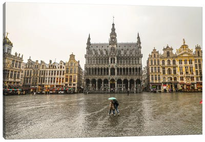 Brussels Grand Place I Canvas Art Print