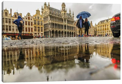Brussels Grand Place II Canvas Art Print
