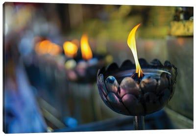 Candles - Thailand 224 Canvas Art Print