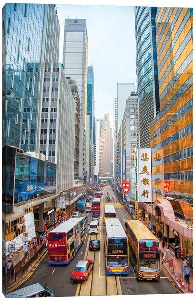 Hong Kong I Canvas Art Print