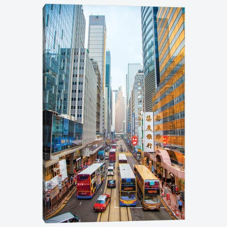 Hong Kong I Canvas Print #BHE286} by Ben Heine Canvas Wall Art