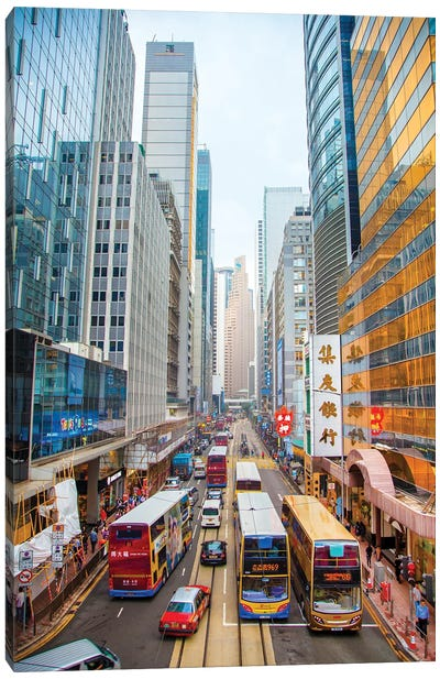 Hong Kong I Canvas Art Print