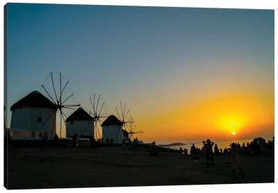 Mykonos Canvas Art Print